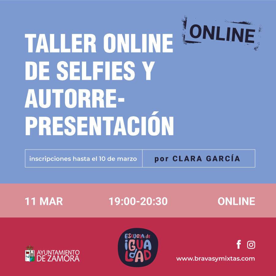 Taller Selfies y Autorrepresentación